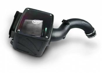 S&B - S&B Cold Air Intake 2001-2004 Duramax LB7 6.6L (Dry Extendable Filter)