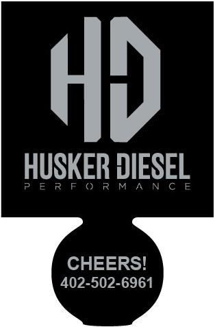 Husker Diesel  - Husker Diesel Koozie