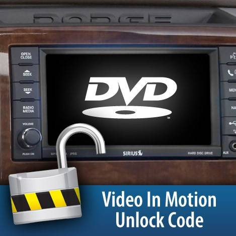 H&S - 2010-2012 Dodge Video in Motion Unlock Code