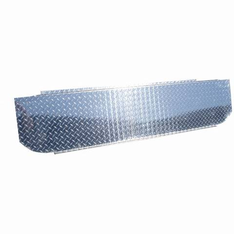"MBRP INC. - Checker Plate Cover to Conceal ""T"" Pipe in Bed"