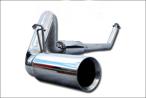 "MBRP INC. - 4"" Turbo Back, Single Side (94-97 Hanger HG6100 req.), T304"