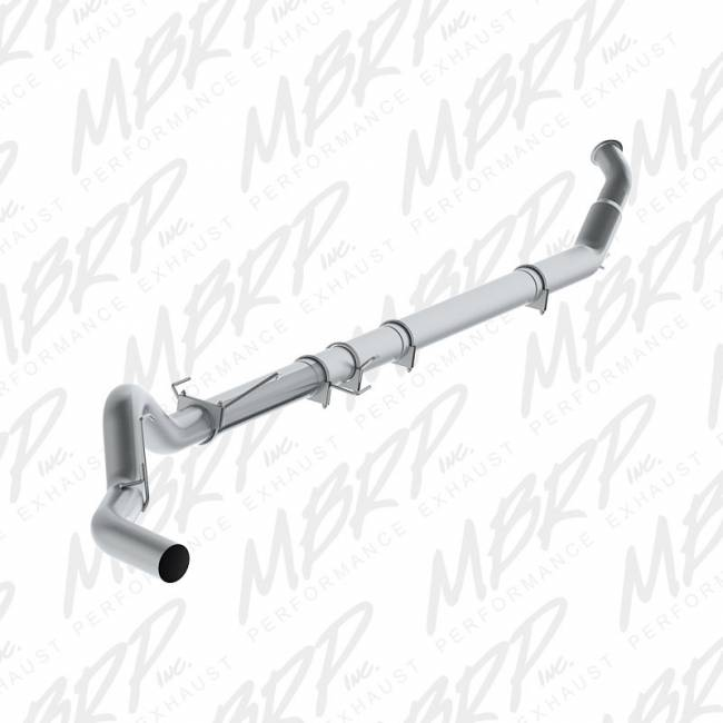 "MBRP INC. - 5"" Turbo Back, Single Side Exit, No Muffler, T409"