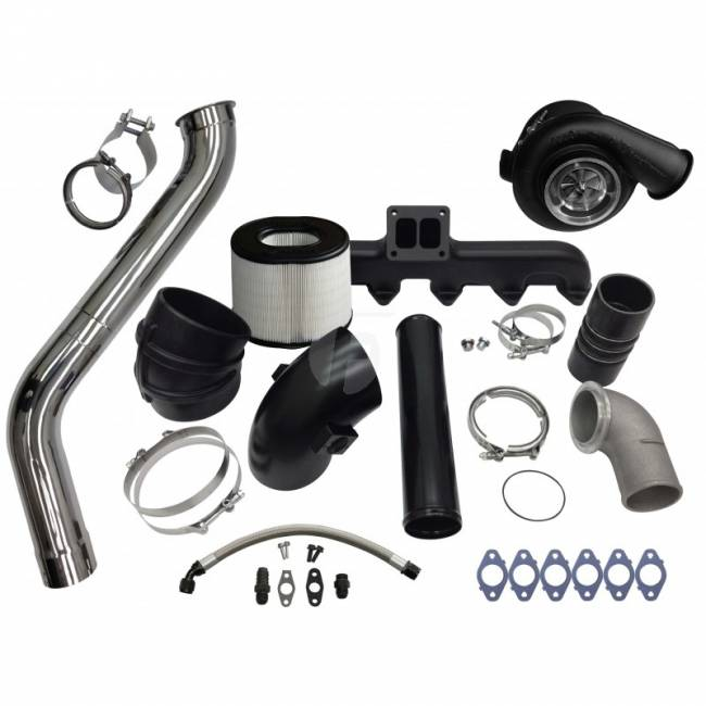 Fleece - FLEECE 2nd Gen Swap Kit & S400 Turbocharger for 3rd Gen 6.7L Cummins (2007.5-2009)