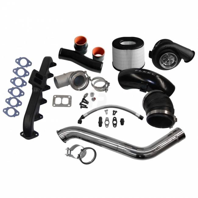 Fleece - FLEECE 2nd Gen Swap Kit & S400 Turbocharger for 4th Gen Cummins (2010-2012)