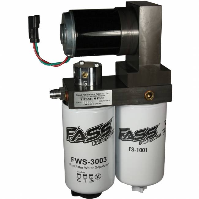 FASS - FASS 2005-2016 Dodge Ram Cummins 95 GPH Flow Rate Titanium Series Lift Pump