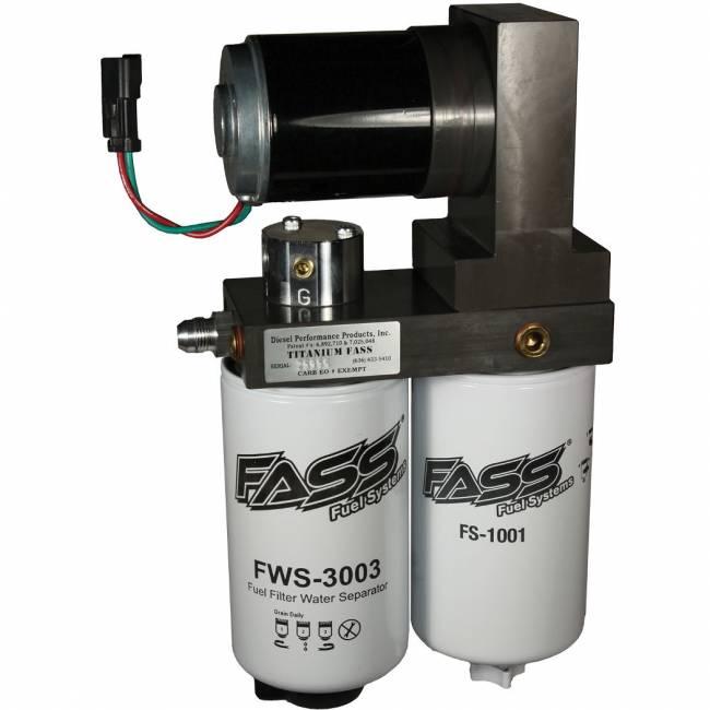 FASS - FASS 1998.5-04 4X4 Dodge Ram Cummins 220 GPH Flow Rate Titanium Series Lift Pump Includes spring to raise pressure to 50PSI