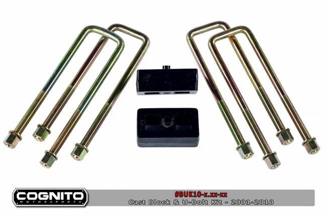 Cognito - 4IN BLOCK & U BOLT KIT-3500HD