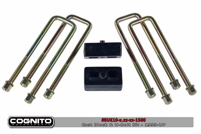 Cognito - 5IN BLOCK & U BOLT KIT-2500HD