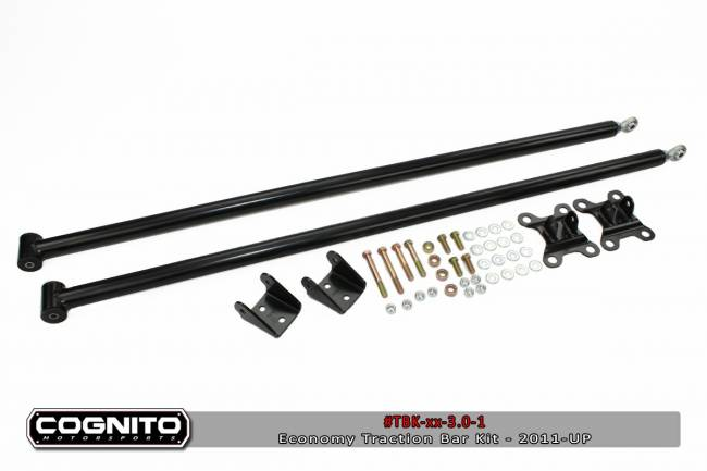 Cognito - 50IN ECONOMY TRACTION BAR KIT-2011-UP  CHEVY/GMC 2500HD/3500HD