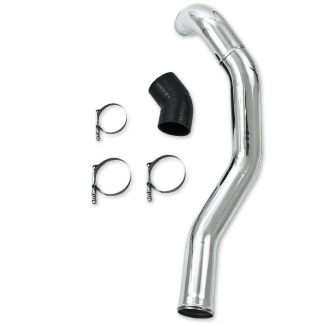 MBRP INC. - Intercooler Pipe - Drivers Side, polished aluminum