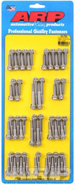 ARP Fasteners - Duramax 6.6L LBZ/LLY/LML/LMM 12pt valve cover bolt kit (STEEL)