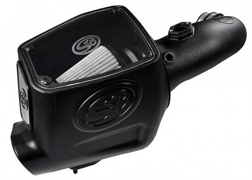 S&B - S&B Cold Air Intake 2008-2010 Ford Powerstroke 6.4L (Dry Extendable Filter)