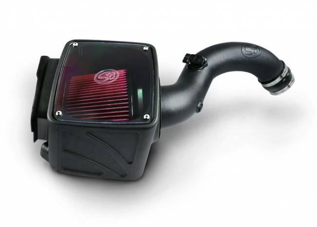 S&B - S&B Cold Air Intake 2004-2005 Chevy / GMC Duramax LLY 6.6L (Dry Extendable)