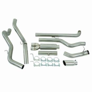 "MBRP INC. - 4"" Down Pipe Back, Cool Duals?, Off-Road T409"