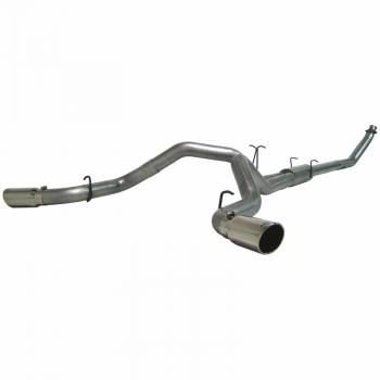 "94-98 Cummins P-Pump 12 Valve - 94-98 Cummins Exhaust - MBRP INC. - 4"" Turbo Back, Cool Duals? (4WD only), AL"