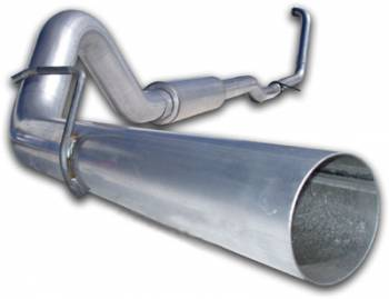 "03-07 Powerstroke 6.0L - 03-07 Powerstroke Exhaust - MBRP INC. - 4"" Turbo Back, Single Side (Stock Cat) Exit, AL"
