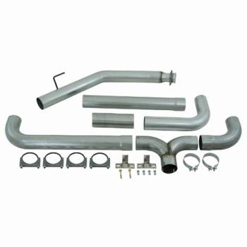 "94-98 Cummins P-Pump 12 Valve - 94-98 Cummins Exhaust - MBRP INC. - 4"" Turbo Back Dual SMOKERS AL"