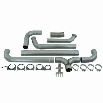 "03-07 Powerstroke 6.0L - 03-07 Powerstroke Exhaust - MBRP INC. - 4"" Turbo Back Dual SmokersAL"