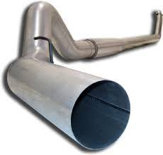 "MBRP INC. - 4"" stainless downpipe for Dodge Cummins"