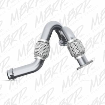 03-07 Powerstroke 6.0L - 03-07 Powerstroke Exhaust - MBRP INC. - Powerstroke Turbo Up Pipe AL