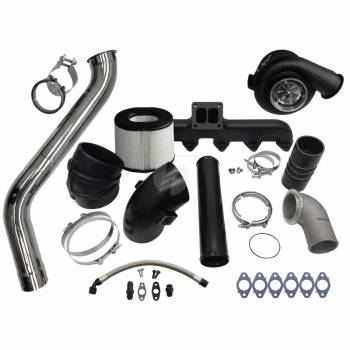 07.5-09 Cummins 6.7L Common Rail - 07.5-09 Cummins Turbos - Fleece - FLEECE 2nd Gen Swap Kit & S400 Turbocharger for 3rd Gen 6.7L Cummins (2007.5-2009)