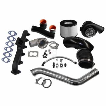 Dodge Cummins - Fleece - FLEECE 2nd Gen Swap Kit & S400 Turbocharger for 4th Gen Cummins (2010-2012)