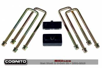 06-07 LBZ Duramax - LBZ Duramax Suspension & Lift Kits - Cognito - 4IN BLOCK & U BOLT KIT-3500HD
