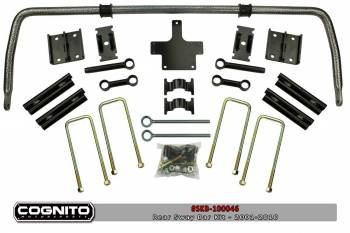 Shop All Duramax Products - Suspension & Lift Kits - Cognito - COGNITO REAR SWAY BAR KIT,OVER THE FRAME-01-10 CHEVY/GMC 2/4WD 2500HD/3500HD
