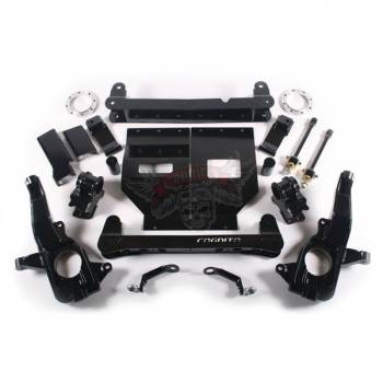 "11-16 LML Duramax - Suspension & Lift Kits - Cognito - STAGE 1 TOW PACKAGE 4"" LIFT KIT W/ FOX SHOCKS"