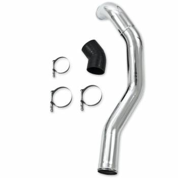 07.5-10 LMM Duramax - LMM Duramax Engine Parts - MBRP INC. - Intercooler Pipe - Drivers Side, polished aluminum