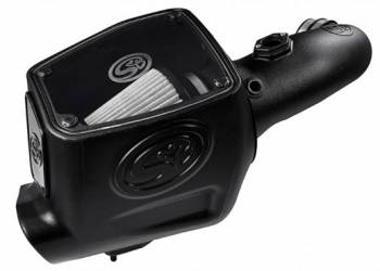 08-10 Powerstroke 6.4L - 08-10 Powerstroke Air Intake - S&B - S&B Cold Air Intake 2008-2010 Ford Powerstroke 6.4L (Dry Extendable Filter)