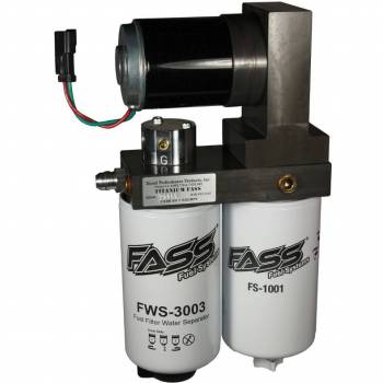 04.5-05 LLY Duramax - LLY Duramax Fuel System - FASS - FASS 2001-2010 GM Duramax 165 GPH Flow Rate Signature Series Lift Pump
